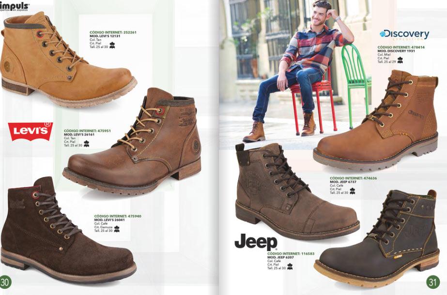 9173e4531 Botas Impuls caballero zapato OI 2018 ~ catalogos online