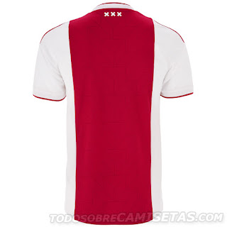 AFC Ajax 2018-19 Adidas Home Kit