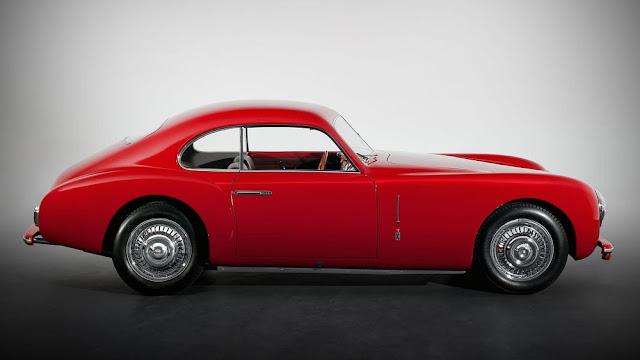 Cisitalia 202 1940s Italian classic car
