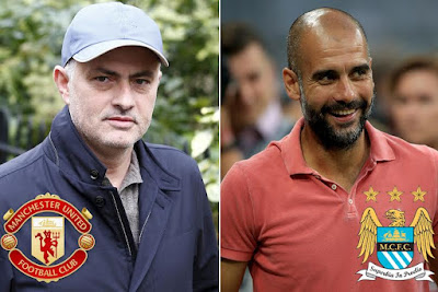 Man U's Jose Mourinho promises not to 'enter fights' with Man City's Pep Guardiola next season