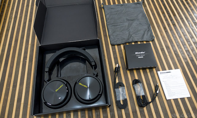 (Ulasan) Bluedio Turbine T5 Wireless Headphones