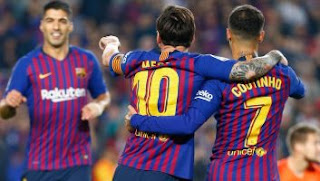 Barcelona Hantam Sevilla 4-2 Full HIGHLIGHTS