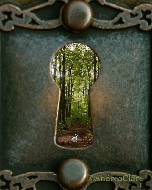 Fechadura de uma porta gigante