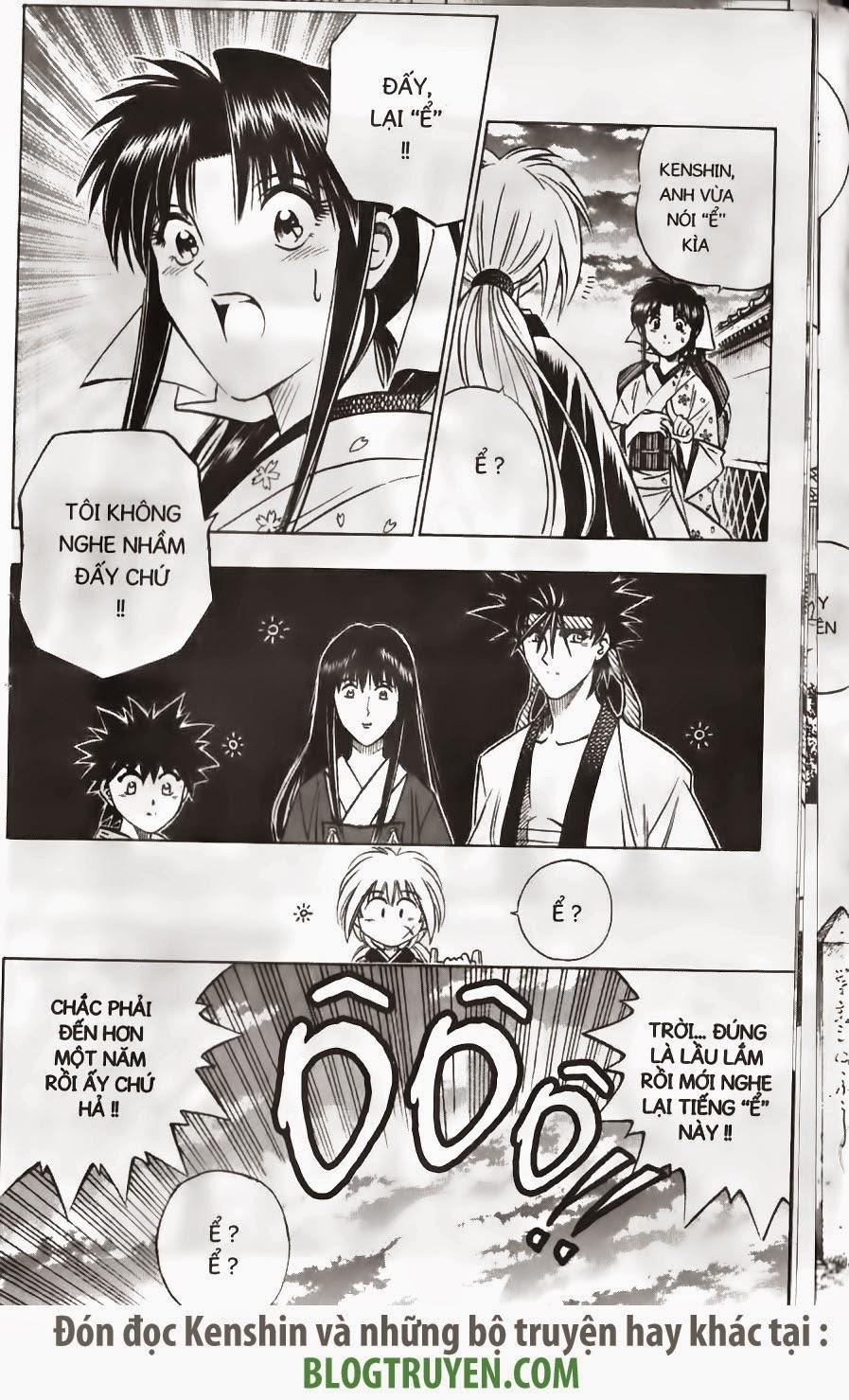 Rurouni Kenshin chap 150 trang 18