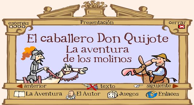 http://nea.educastur.princast.es/quixote/