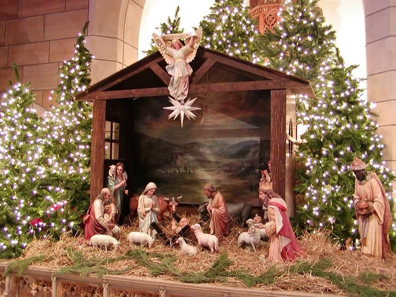 Christmas Crib For Xmas Celebration Kids Online World Blog