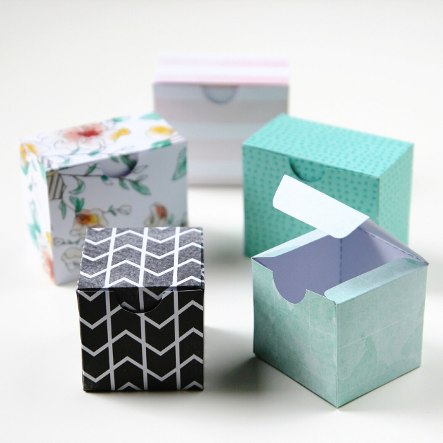 Decorative Boxes Templates : Printable diy gift boxes gathering beauty