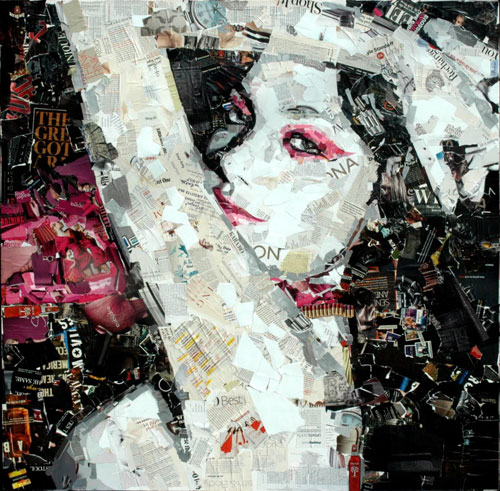 Doctor Ojiplático. Derek Gores. Collage