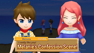 Melanie's Confession Scene in Harvest Moon: Light of Hope