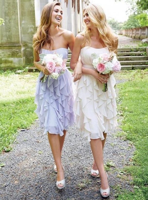 *Bridesmaid dresses