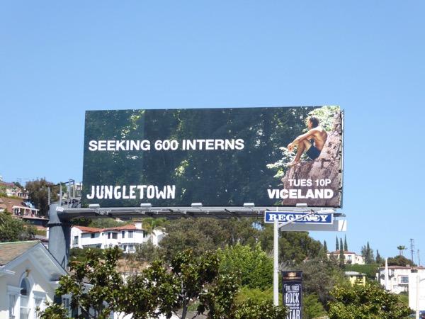 Jungletown series premiere billboard