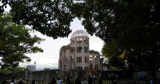 Obama, Hiroshima and the view from Japan, for The Christian Science Monitor