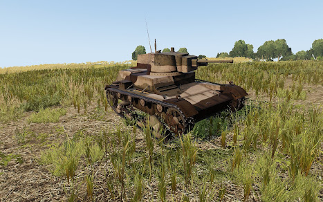 Arma3用チェコスロバキア軍MODにW39 7TP
