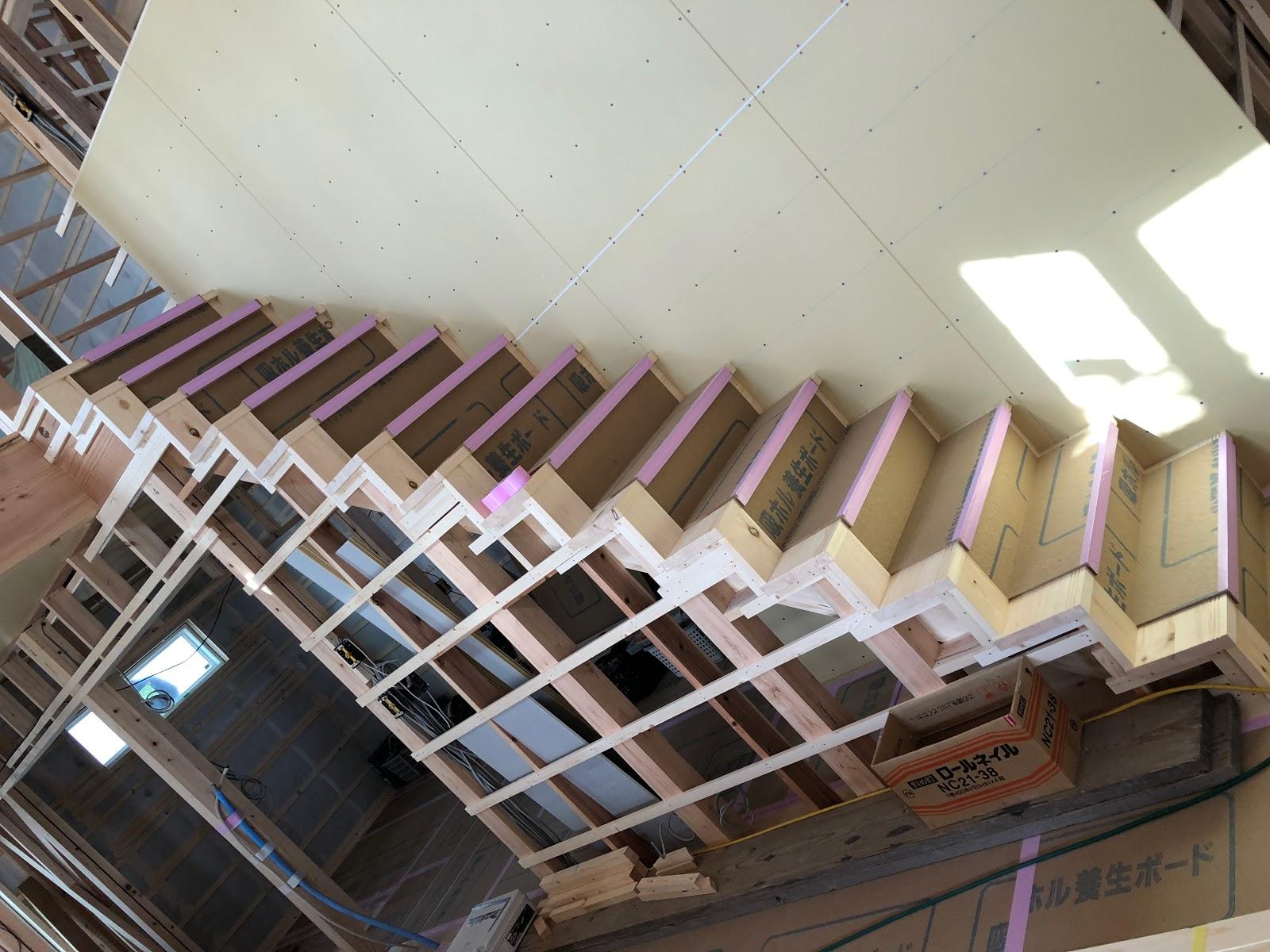 自然素材の家 鈴鹿市 全館空調の家 セルロースファイバー