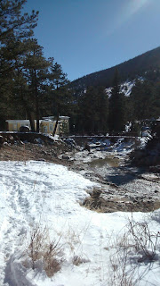 Photo of Estes Park Fish Hatchery stablization project