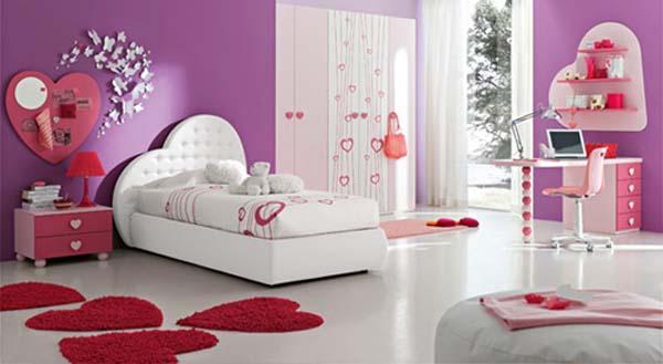 idée de décoration pour chambre de fille