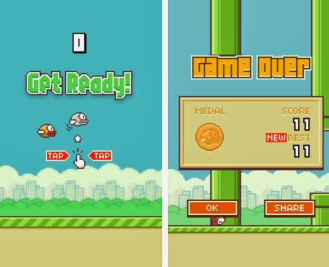 Tips, Trik dan Cheat Hack Flappy Bird untuk Skor Tinggi