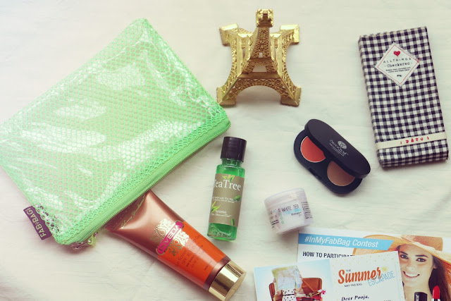 Fab Bag Discount coupon, May 2016 The Summer Escapade fab bag, May Fab Bag Review,Inveda Sunscreen Cream Gel SPF 30,Seasoul Dual Eyeshadow Palette,The Nature's Co White Tea Night Cream,Nyassa Tea Tree Face Wash,beauty , fashion,beauty and fashion,beauty blog, fashion blog , indian beauty blog,indian fashion blog, beauty and fashion blog, indian beauty and fashion blog, indian bloggers, indian beauty bloggers, indian fashion bloggers,indian bloggers online, top 10 indian bloggers, top indian bloggers,top 10 fashion bloggers, indian bloggers on blogspot,home remedies, how to