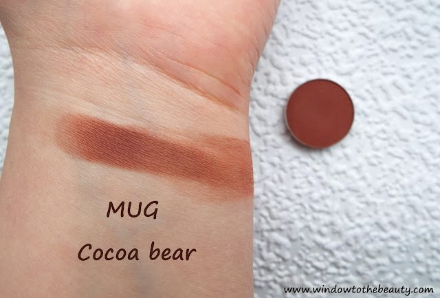 Cocoa bear MUG SWATCH