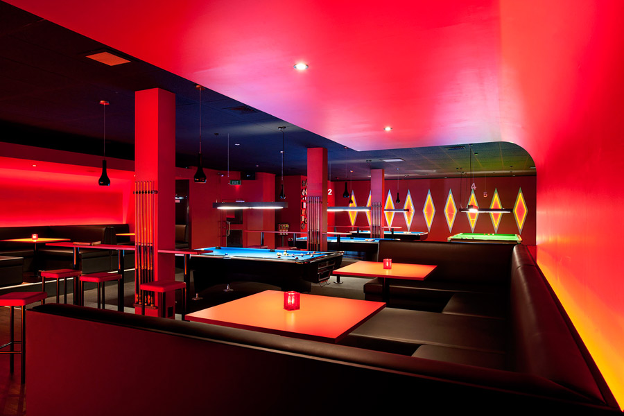 A Fit Out For Pool Hall Bar Within Nondescript 1970 S Building The Brief Was To Give Existing Dated And Run Down Interior Of An