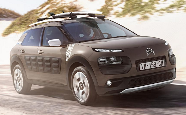 2017 citroen c4 cactus rip curl constrained version suv. Black Bedroom Furniture Sets. Home Design Ideas