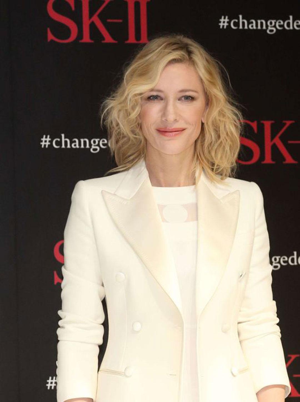 Cate Blanchett, analiza kolorystyczna, Jasne Lato, biel