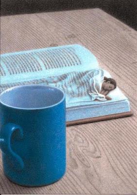 Nachts mit Buch