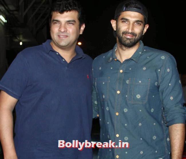 Siddarth and Aditya Roy Kapoor