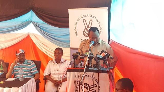 BREAKING:MBOWE ATANGAZA KUAHIRISHWA KWA OPERESHENI UKUTA