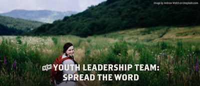 Youth Leadership Team Applications Are Now Open