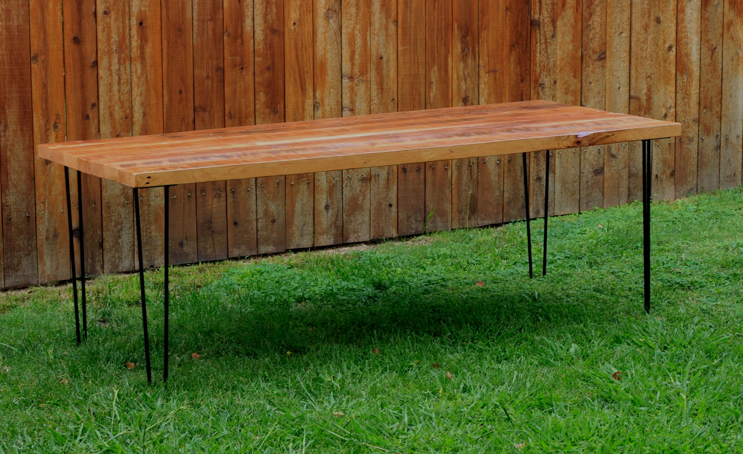 Bench Dining Tables: Reclaimed Wood Furniture: Outdoor Dining