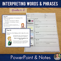 "Teach your Middle School students how to examine word choices for connotation and tone with the poem ""Invictus"", a PowerPoint and structured visual notes called Pixanotes® #poetrylessons"