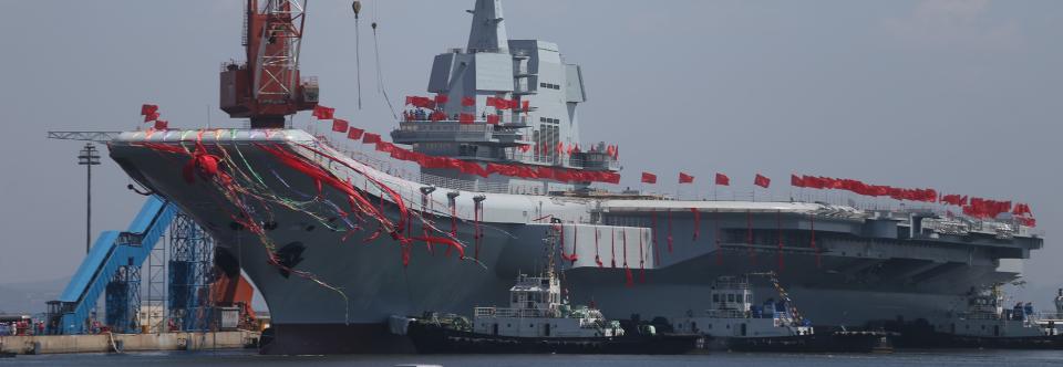 Китайській флот отримав другий авіаносець
