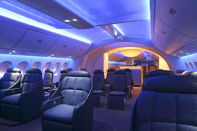 Airlines Alitalia Interior