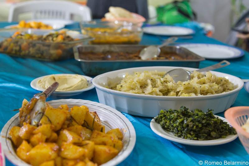 Arab Meal Jisr az-Zarqa Israel