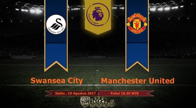 Prediksi Bola : Swansea City Vs Manchester United , Sabtu 19 Agustus 2017 Pukul 18.30 WIB