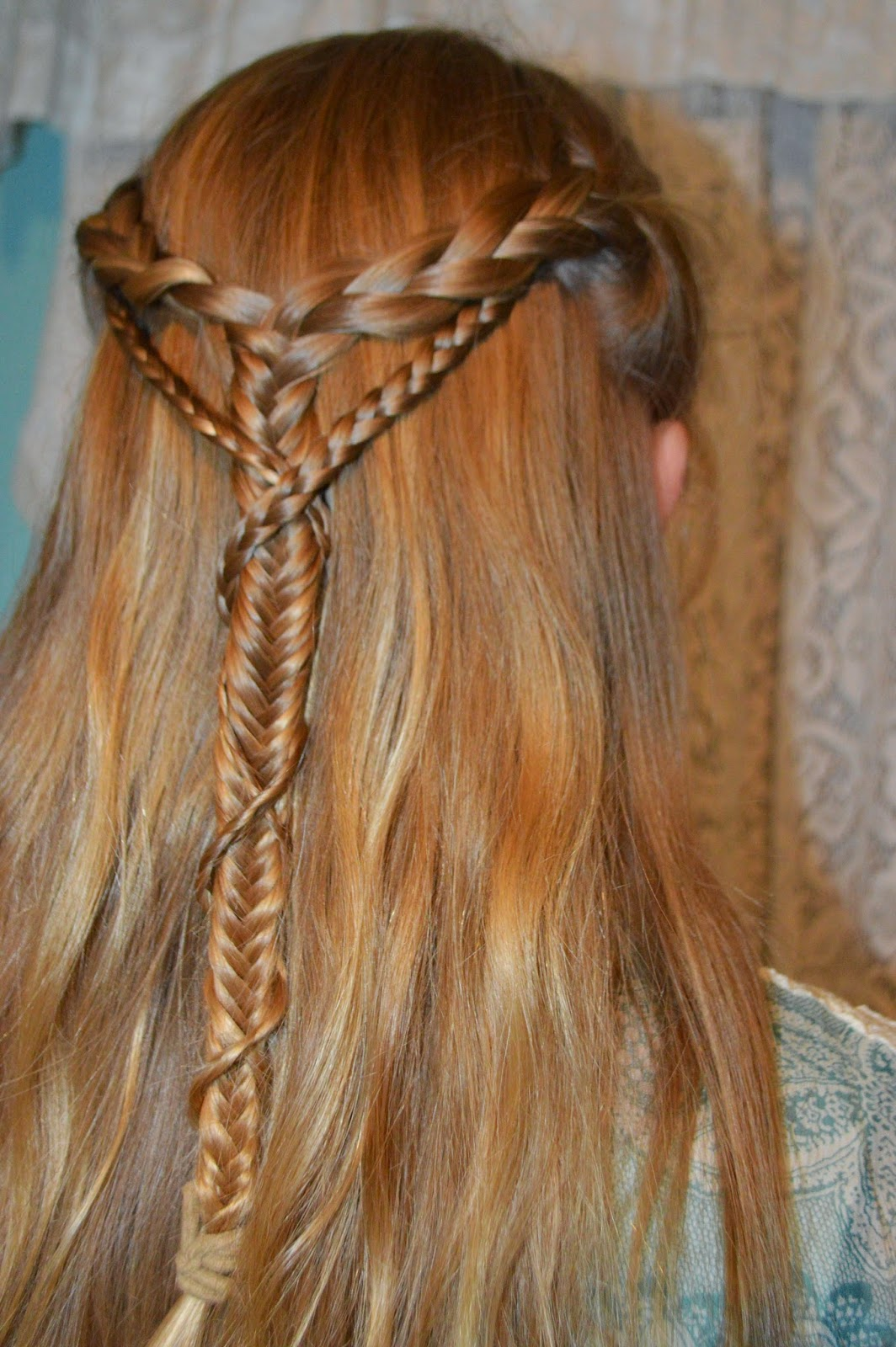 How To Fishtail Braid Fishtail Step By Step