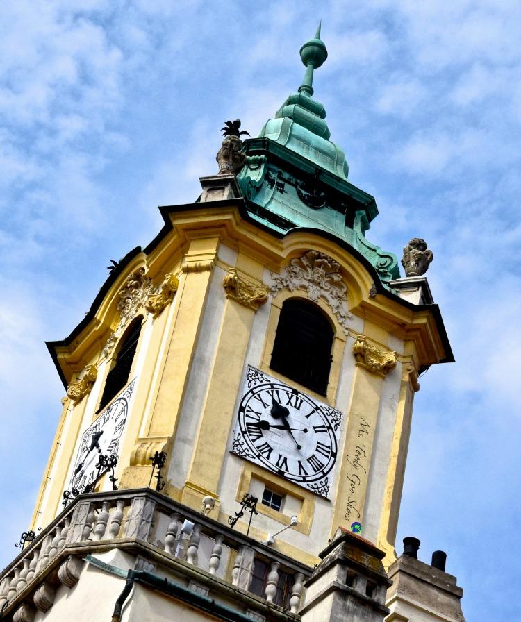 Bratislava's Old Town Hall | Ms. Toody Goo Shoes #bratislava #slovakia #danuberivercruise