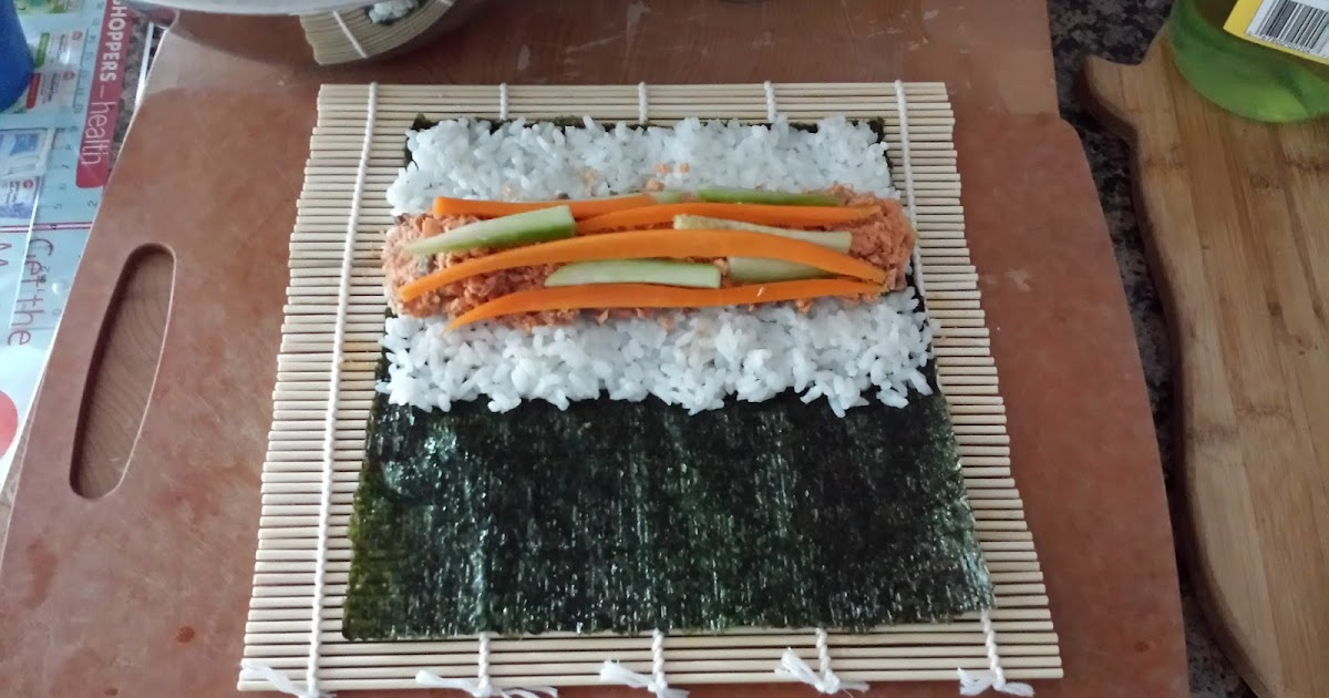 How To Make Tuna Gimbap Quot Korean Sushi Quot Step By Step Photos