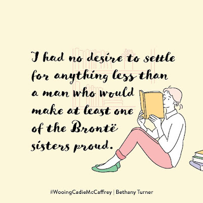 "Meme text: ""I had no desire to settle for anything less than a man who would make at least one of the Brontë sisters proud."""