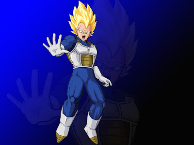 Gambar Vegeta Super Saiyan