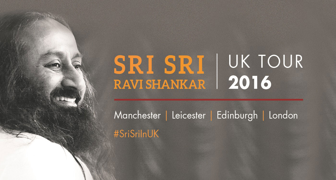 Sri Sri in United Kingdom 2016