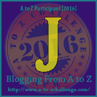 J is for: Jam Session - A Wandering Vine #AtoZChallenge