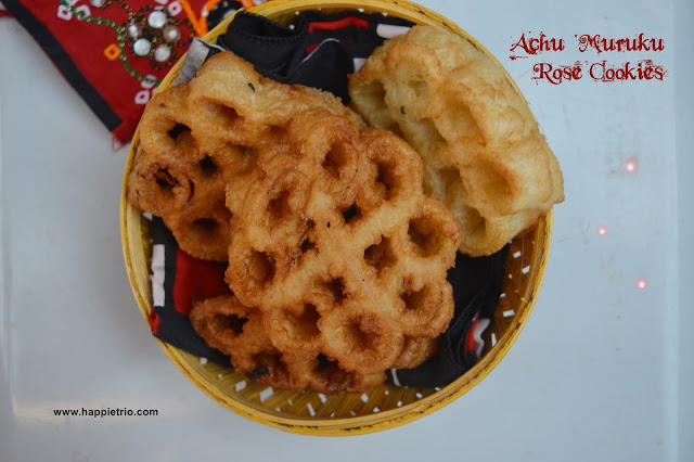 Achu Muruku Recipe | Rose Cookies