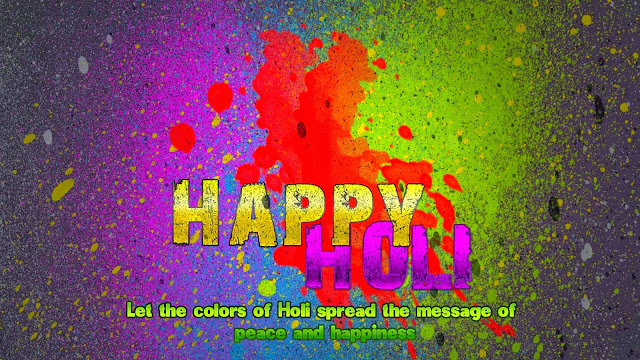 Happy Holi 2017 HD Wallpapers Images Greetings Cards - Top HD Cards Of Happy Holi