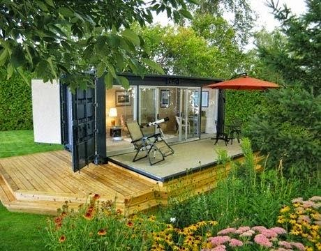 shipping container for home