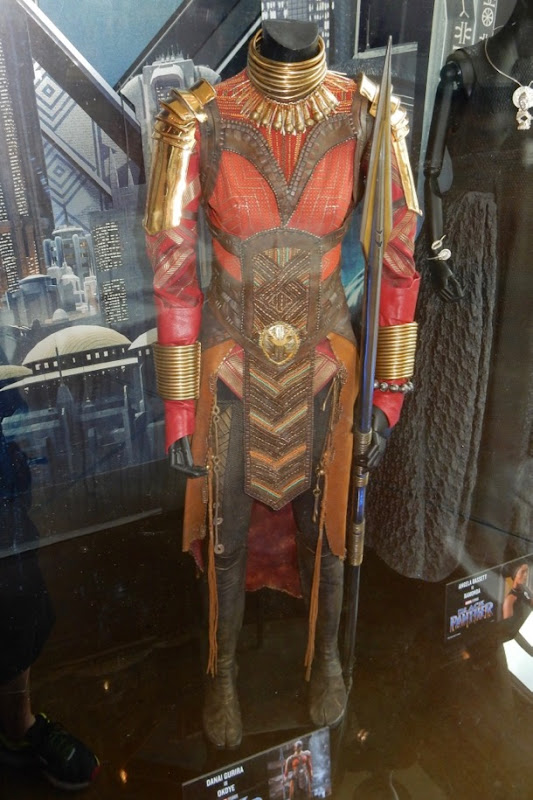General Okoye Black Panther Dora Milaje movie costume