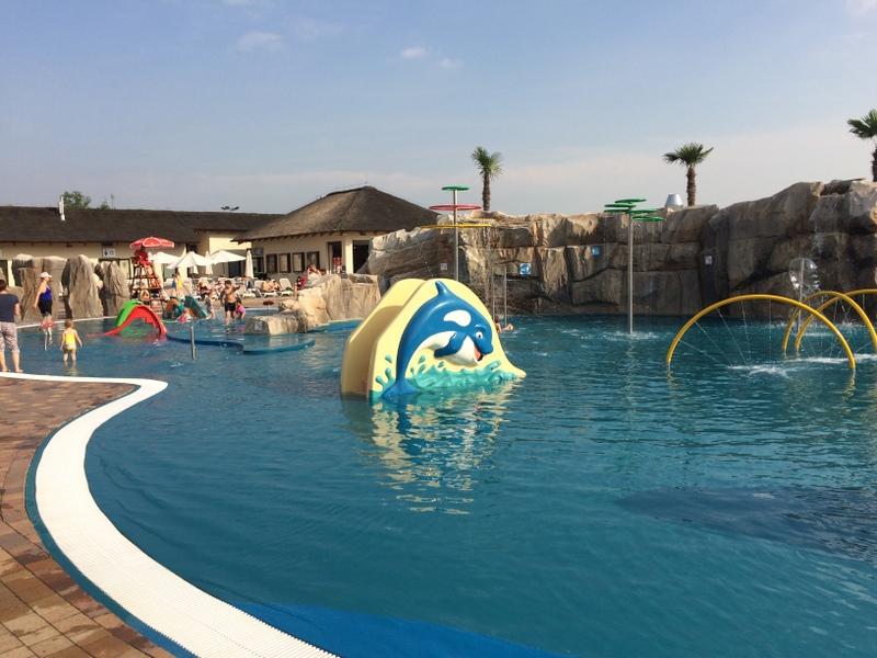strefa basenowa basen dla małych dzieci zator energylandia