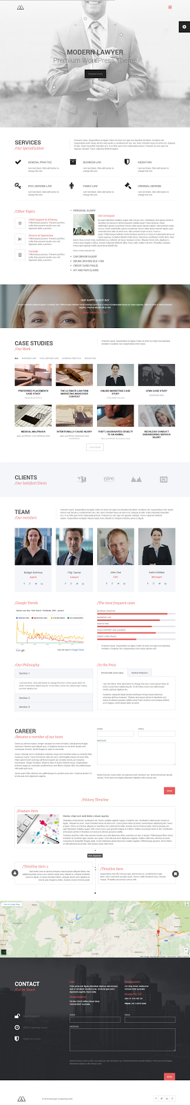 best Lawyers & Business WordPress Theme