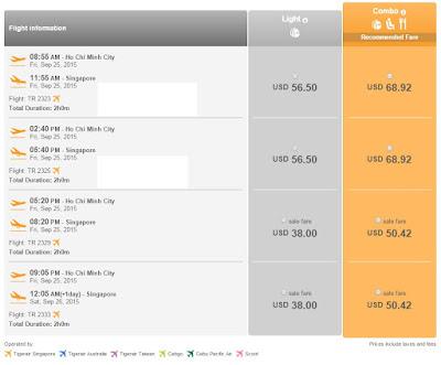 Vé máy bay đi Singapore giá rẻ chỉ từ 38 USD